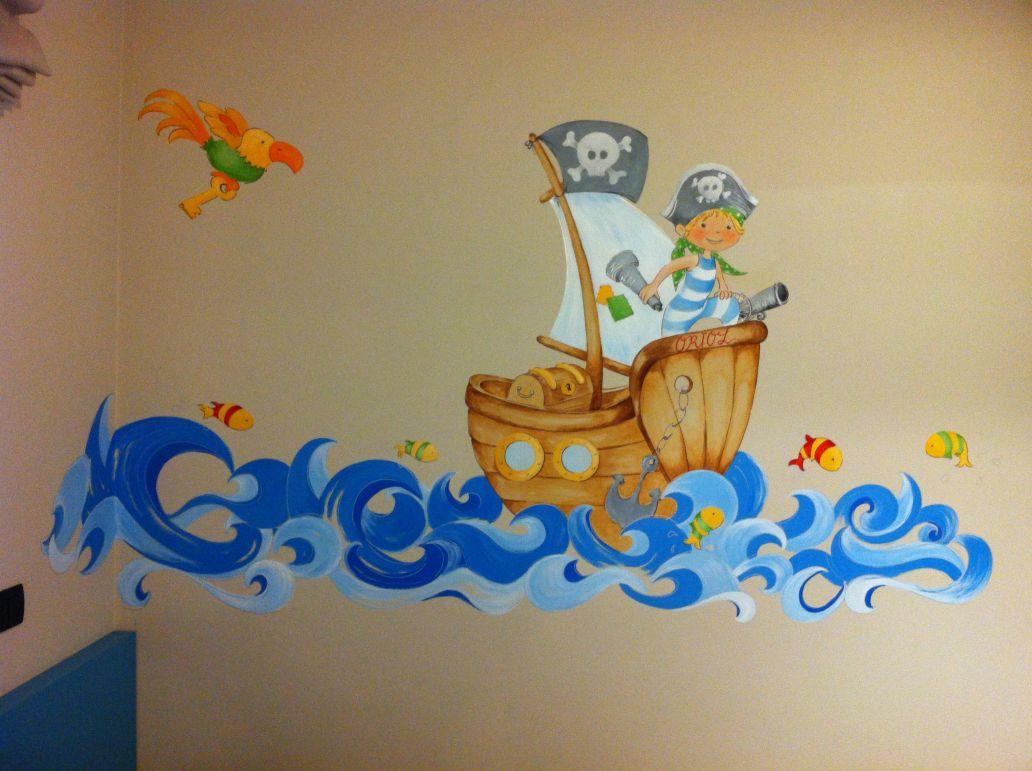 Murales infantiles murales habitacion infantil murales for Murales infantiles